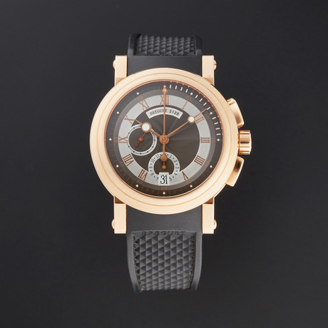 Breguet Marine Chronograph Automatic // 5827BR/Z2/5ZU // Pre-Owned