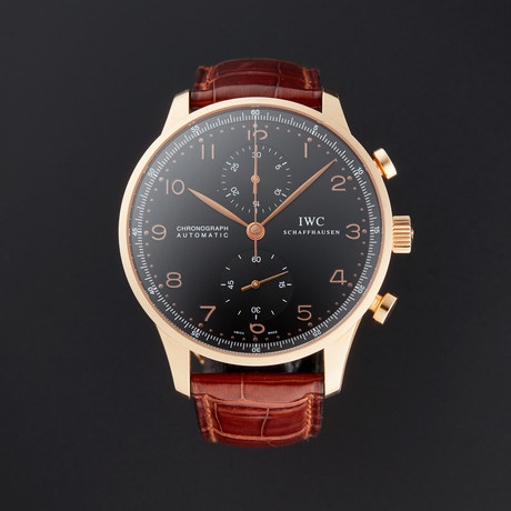 IWC Portuguese Chronograph Automatic // IW371415 // Pre-Owned
