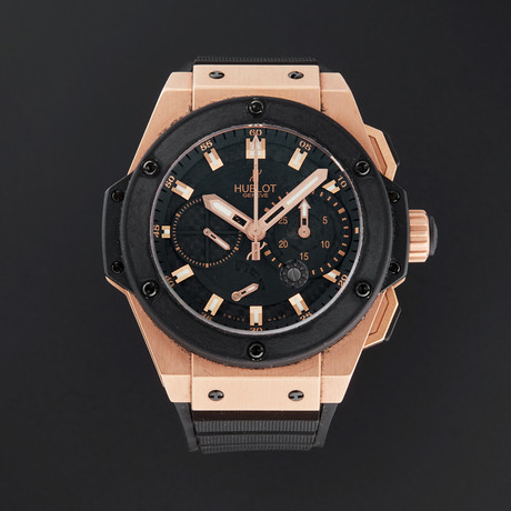 Hublot King Power Chronograph Automatic // 709.OM.1780.RX // Pre-Owned