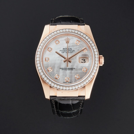 Rolex Ladies Datejust Automatic // 116185 // Random Serial // Pre-Owned