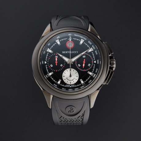 Bertolucci Forza Chronograph Automatic // 1394.51.42.108D7.901 // Pre-Owned