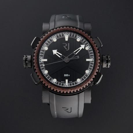 Romain Jerome Black Octopus Automatic // RJ.T.AU.DI.001.01 // New