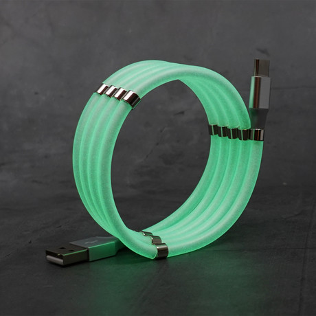 Anti-Tangle Cable // Glow in the Dark (Apple Lightning // 3.3 ft)