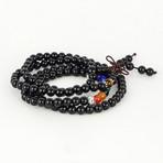 Jean Claude Jewelry // Onyx + Mala Beaded Bracelet // Multicolor