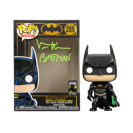 Val Kilmer Autographed // Batman Forever 80th Anniversary POP Vinyl #289