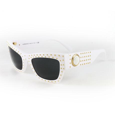 Women's VE4358 Sunglasses // White