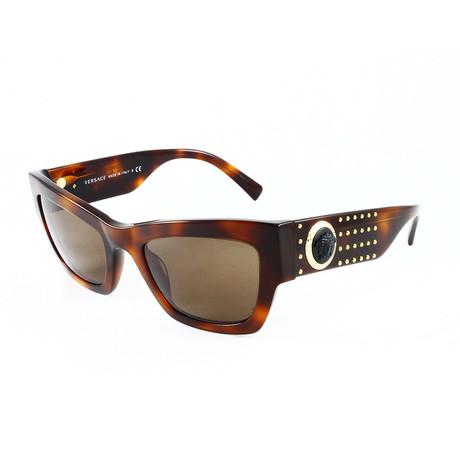 Versace // Women's VE4358 Sunglasses // Havana