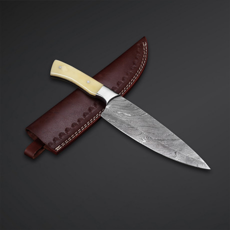 Damascus Classic Vegetable Knife