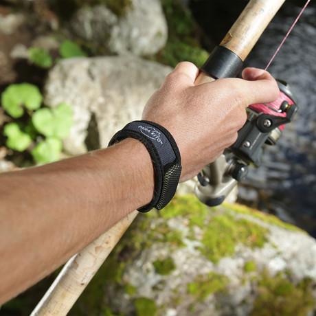 Mosquito Repellent Wristbands Bonus Pack // Black + Blue // 2 Pack