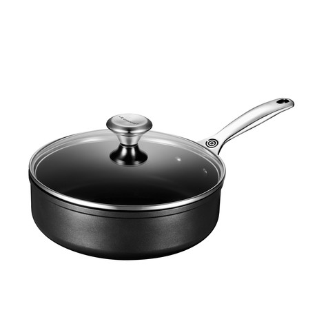 Toughened Nonstick Pro Sauté Pan + Glass Lid // 3.5 qt.