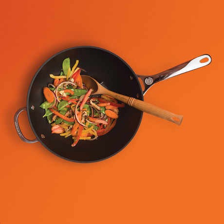 Toughened Nonstick Pro Stir Fry Pan // 12""