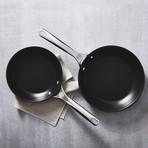 "Toughened Nonstick Pro Fry Pans // 2 Piece Set (8"" + 10"")"