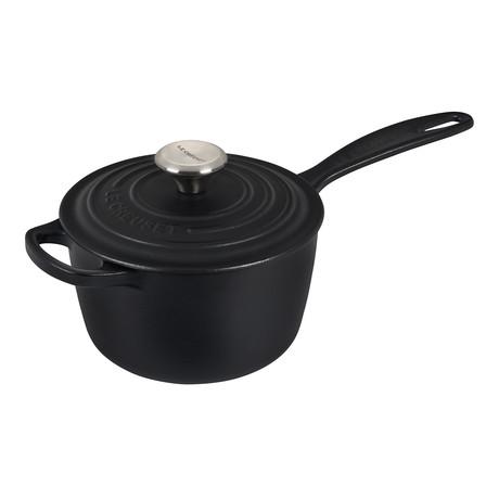 Signature Saucepan // 1.75 qt (Licorice)