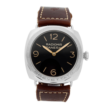 Panerai Radiomir 3-Days Acciaio Brevettato Manual Wind // PAM00685 // Pre-Owned