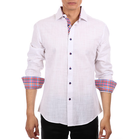 Lim Button Up Shirt // White (XS)