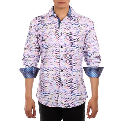 Abel Button-Up Shirt // White (S)