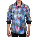 Wilson Button Up Shirt // Blue (XS)