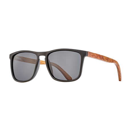 Men's Cail Polarized Sunglasses (Olive Green + Rosewood + Smoke)
