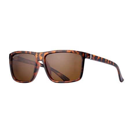 Men's Landen Polarized Sunglasses (Crystal Smoke + Silver + Gold)