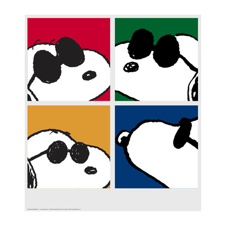 Peanuts // Snoopy // Faces // Limited Edition Artwork (Art Print)