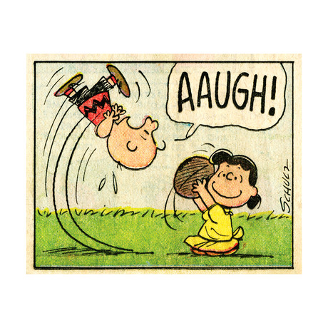 Peanuts // Aaugh // Limited Edition Fine Art Print