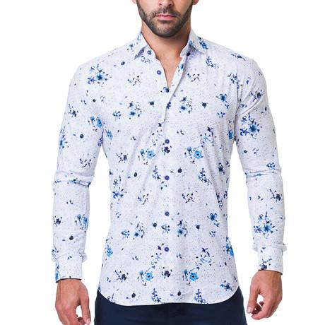 Fibonacci Breakthrough Dress Shirt // White (S)