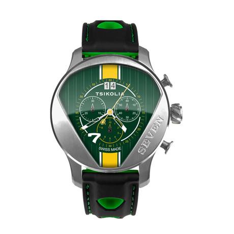 Tsikolia Seven Racing Chronograph Quartz // TW7-1/300-1-19
