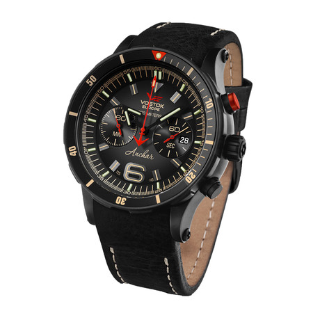 Vostok-Europe Anchar Chronograph Quartz // 6S21/510C582