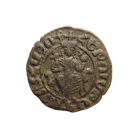 Medieval Armenia, King Hetoum 1226 - 1270 AD // Large Copper Coin