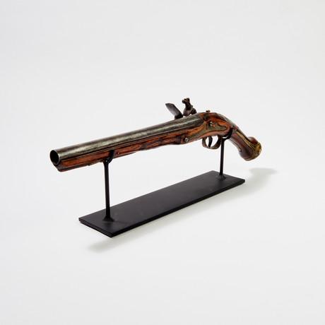 """18th Century Mid-Eastern Flintlock Pistol // """"Pirate Gun"""""""