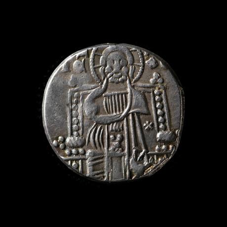 Medieval Venice, Italy // 1312-1328 AD Silver Coin