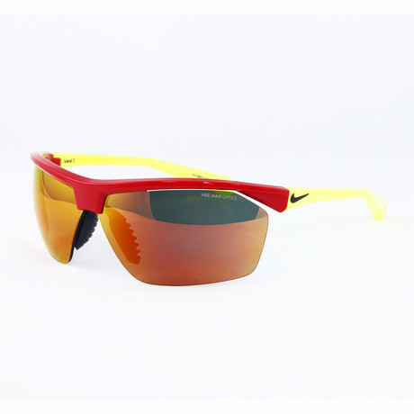 Men's EV0810-676 Tailwind 12 Sport Sunglasses // Gym Red + Voltage