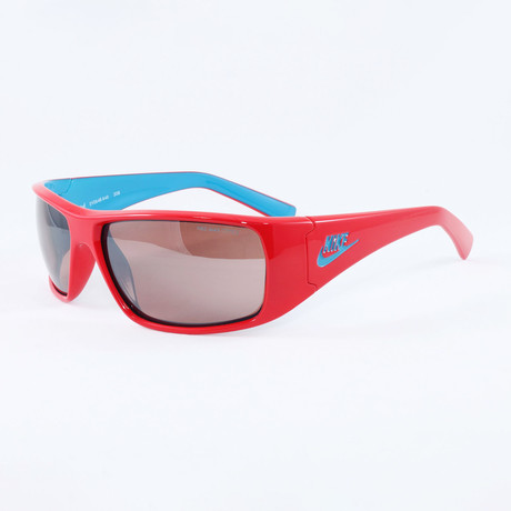 Men's EV0648-646 Grind Sport Sunglasses // Hyper Red + Neo Turquoise