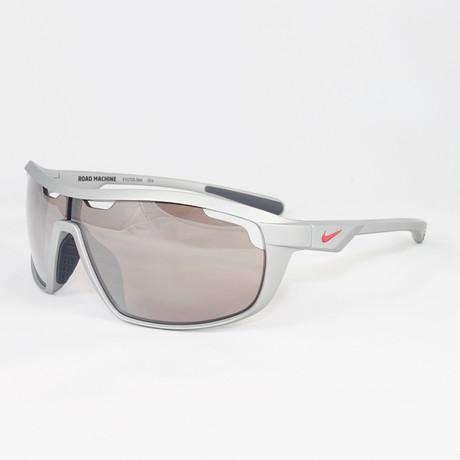 Men's EV0705-566 Road Machine Sport Sunglasses // Matte Platinum