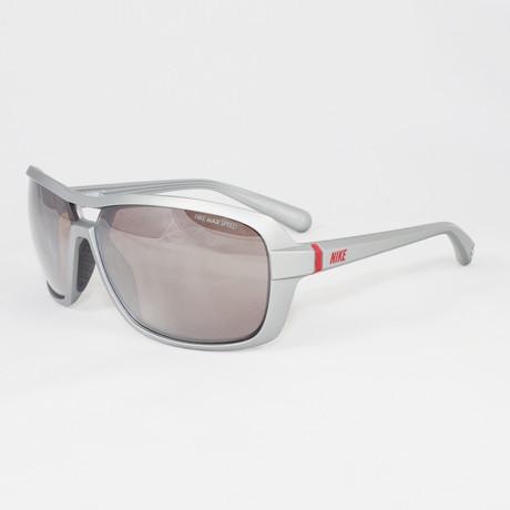 Men's EV0616-506 Racer Sport Sunglasses // Matte Platinum