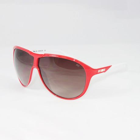 Unisex EV0720-615 MDL210 Sport Sunglasses // Red + White