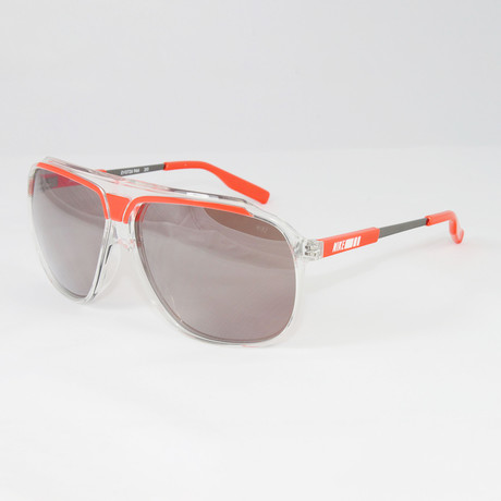 Men's EV0726-966 MDL240 Sport Sunglasses // Clear Crimson