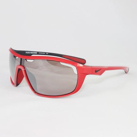 Men's EV0705-606 Road Machine Sport Sunglasses // Hyper Red + Matte Black