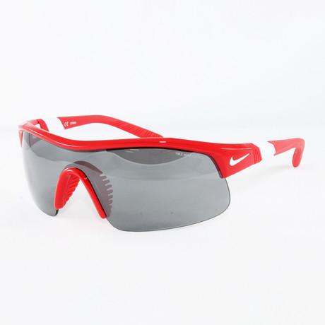 Men's EV0617 University Sport Sunglasses // Red + White