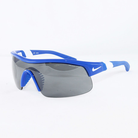 Men's EV0617 Game Sport Sunglasses // Royal Blue + White