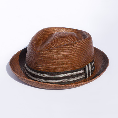 Santa Fe Straw // Caramel Brown (S)