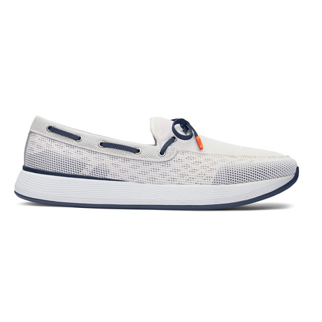 Breeze Wave Lace // White + Alloy + Navy (US: 7)