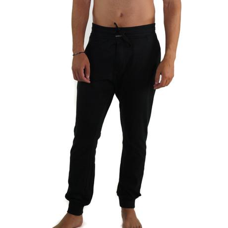 Cotton Jersey Sleep Jogger // Black (S)