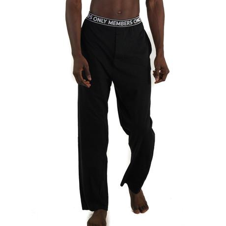 Cotton Jersey Sleep Pant // Black (S)