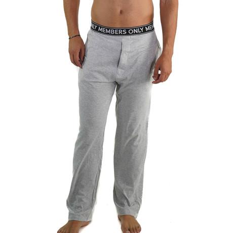 Cotton Jersey Sleep Pant // Heather Gray (S)