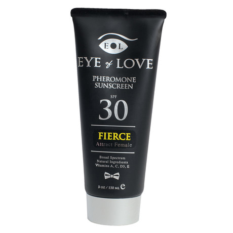 Pheromone Sunscreen // Fierce // Men Attract Women