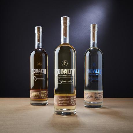 Cobalto Tequilas // Blanco + Reposado + Añejo // Set Of 3