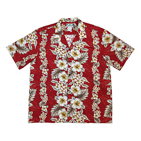 Pacific Panel Shirt // Red (Small)