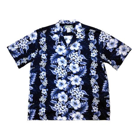 Pacific Panel Shirt // Navy (Small)