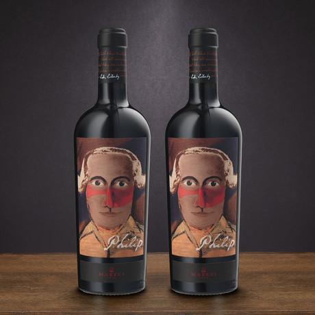 94 Point Mazzei Philip Toscana Cabernet Sauvignon // Set of 2 // 750 ml Each